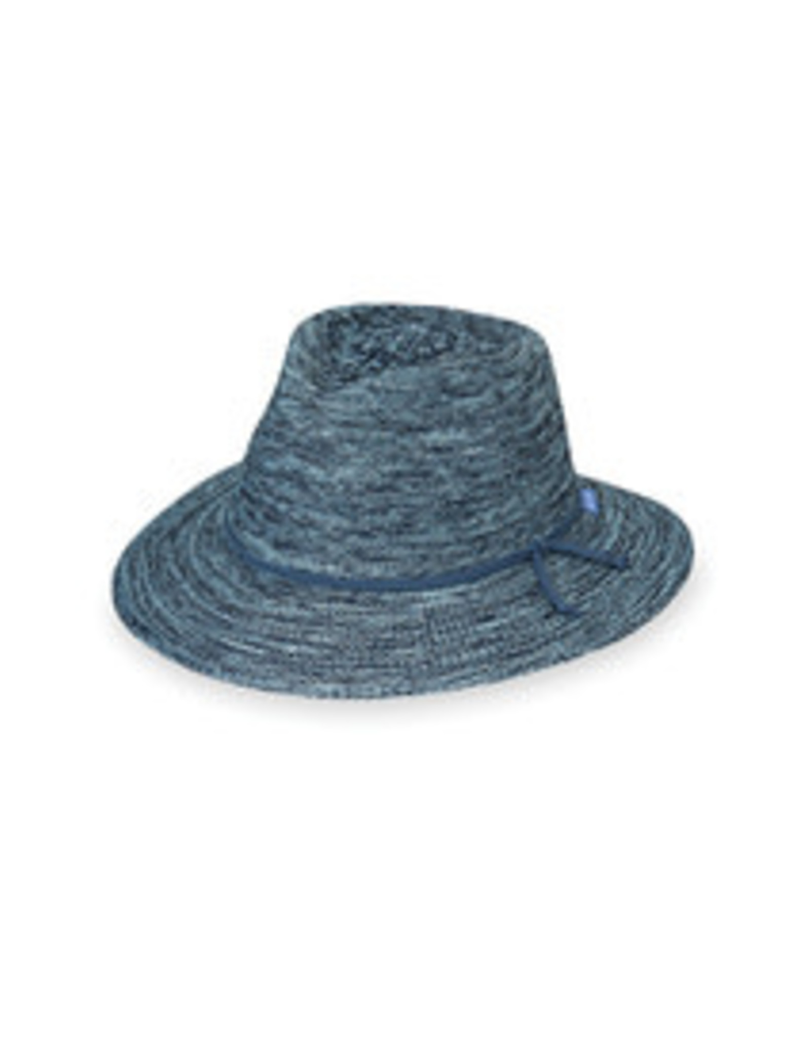 Wallaroo Hat Co Victoria Fedora-Mixed Denim