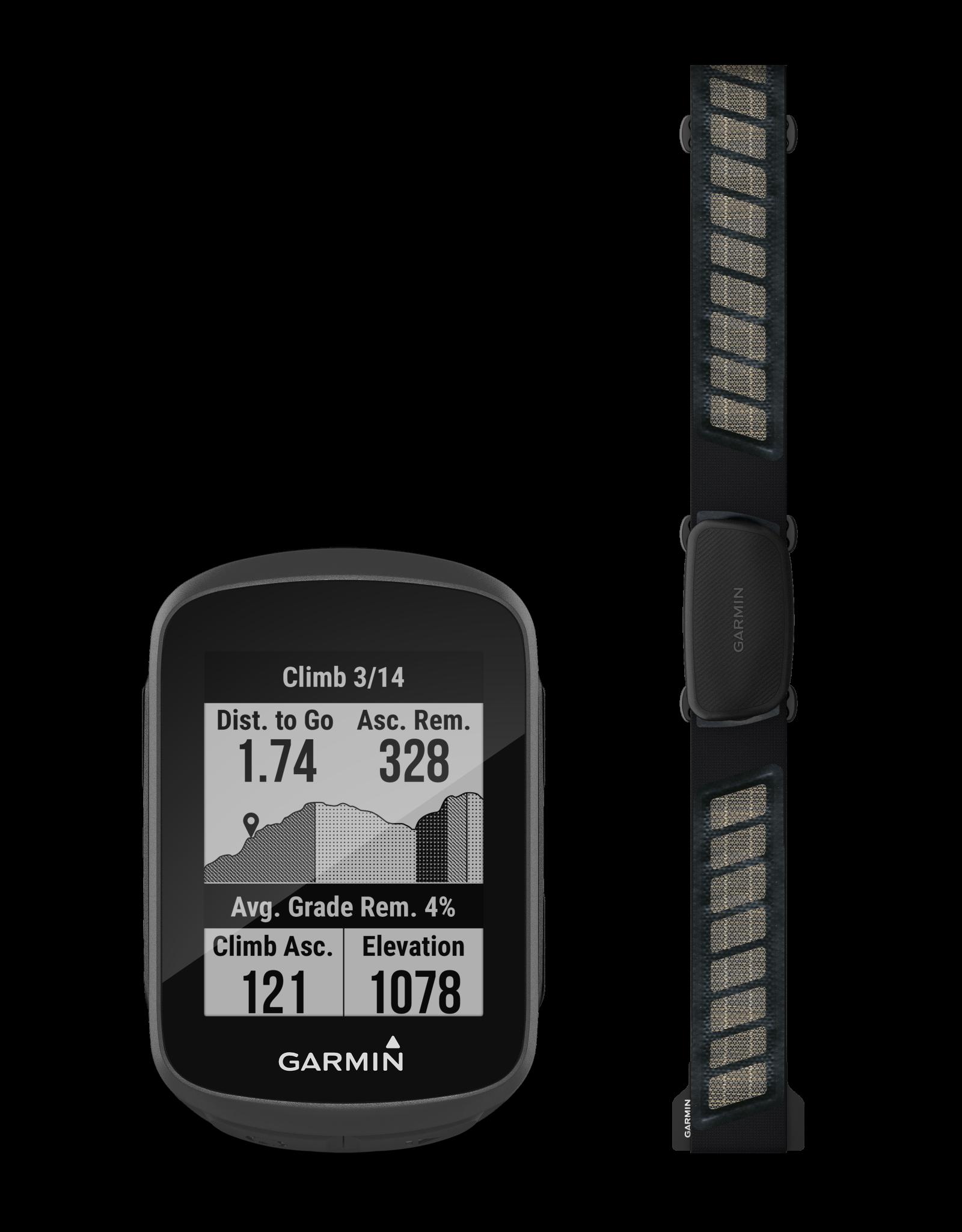 Garmin Edge 130 Plus Bike Computer - GPS, Wireless, Black