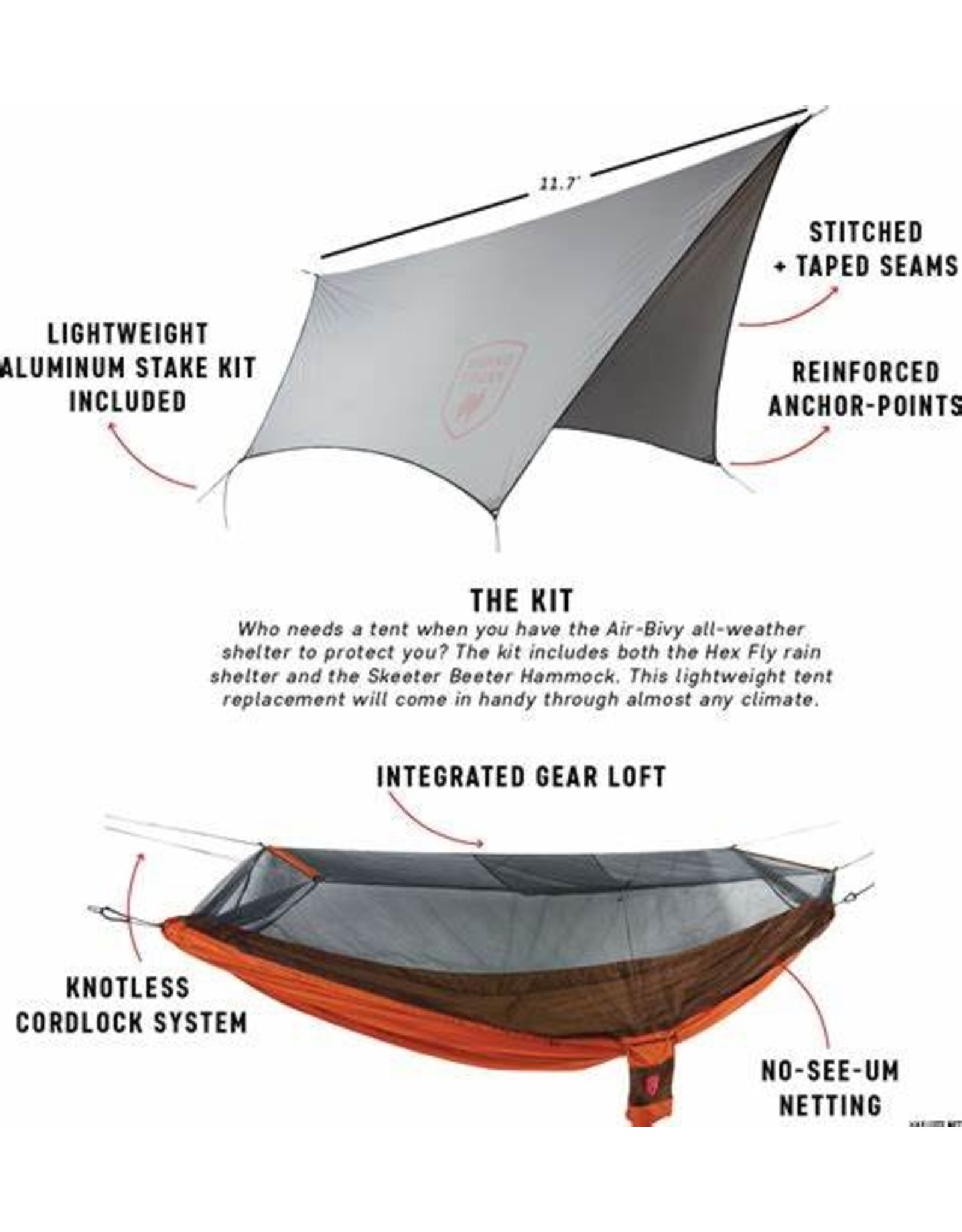 Grand Trunk Air Bivy All-Weather Shelter