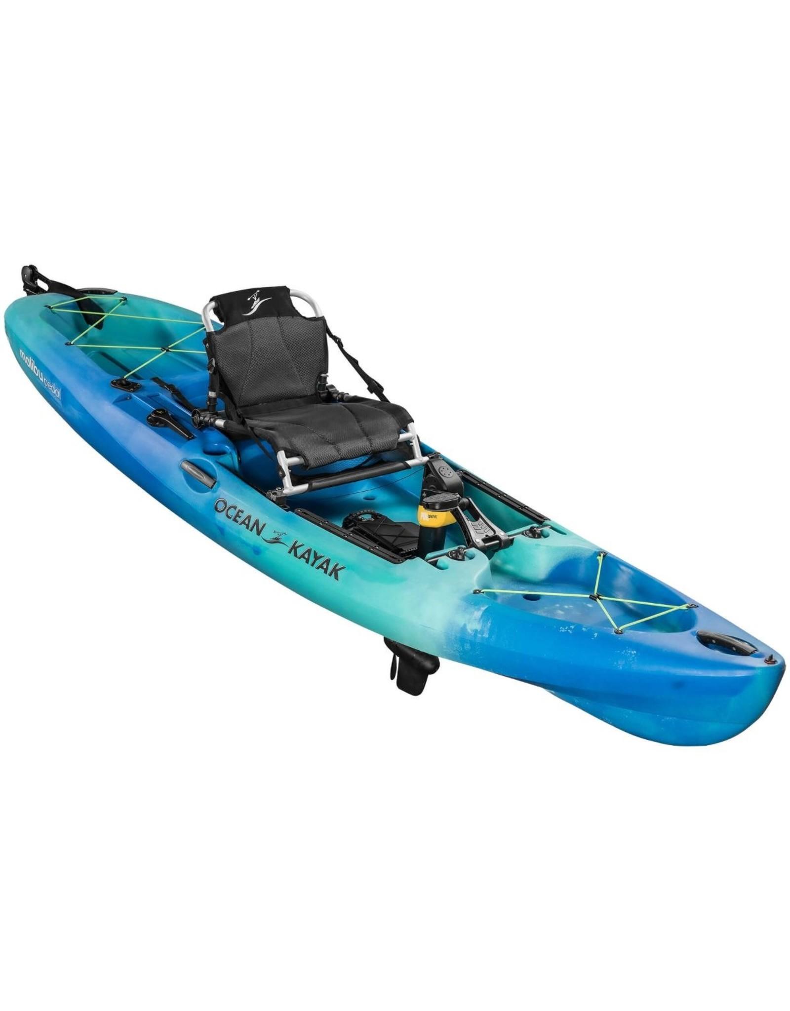 Old Town Ocean Kayak Malibu PDL (Teal/Blue)