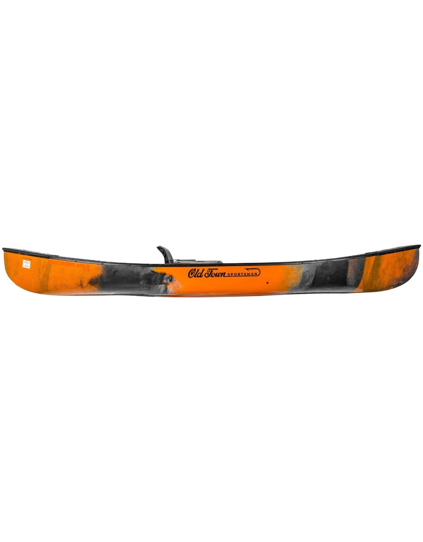 Old Town Sportsman Discovery Solo 119 (Black/Orange)