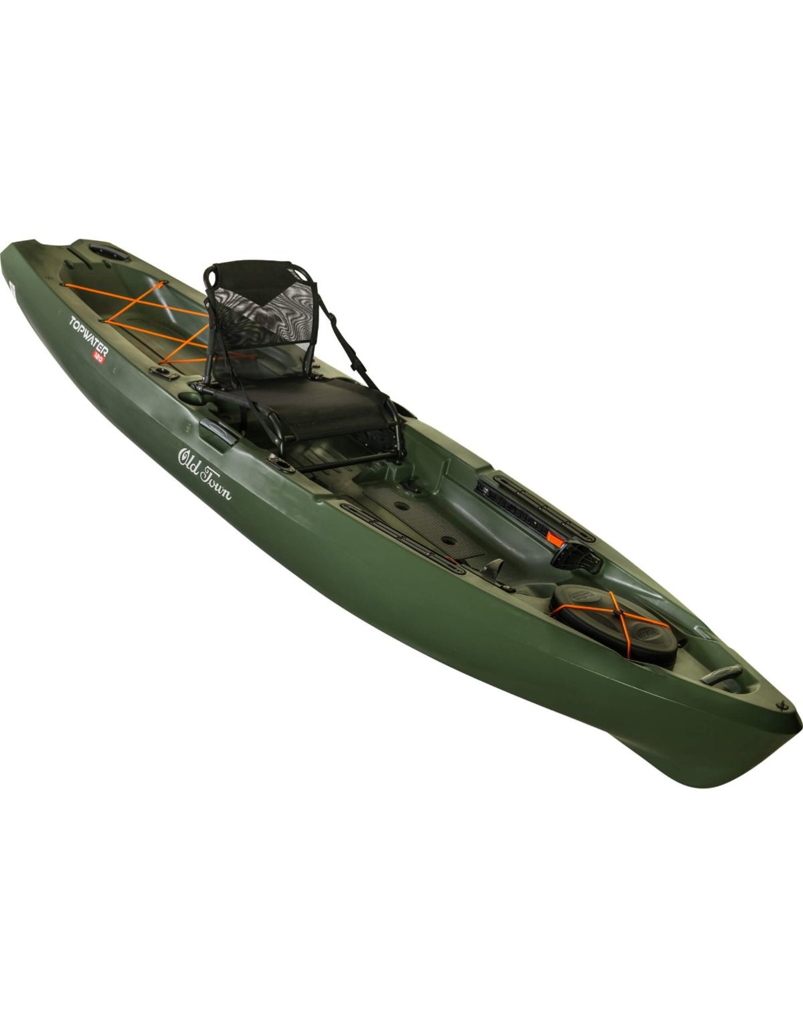Old Town Topwater 120 (Orange/Olive)