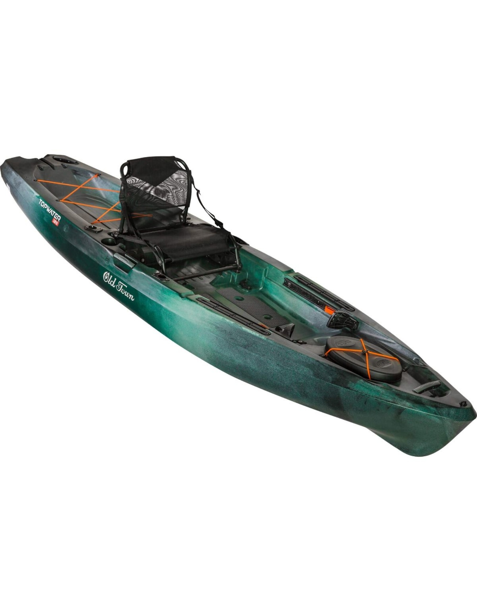 Old Town Topwater 120 (Orange/Teal)