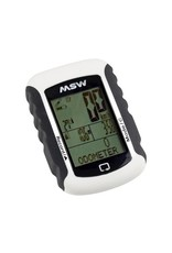 MSW Miniac 333 GPS BLE Bike Computer - GPS, Wireless, White