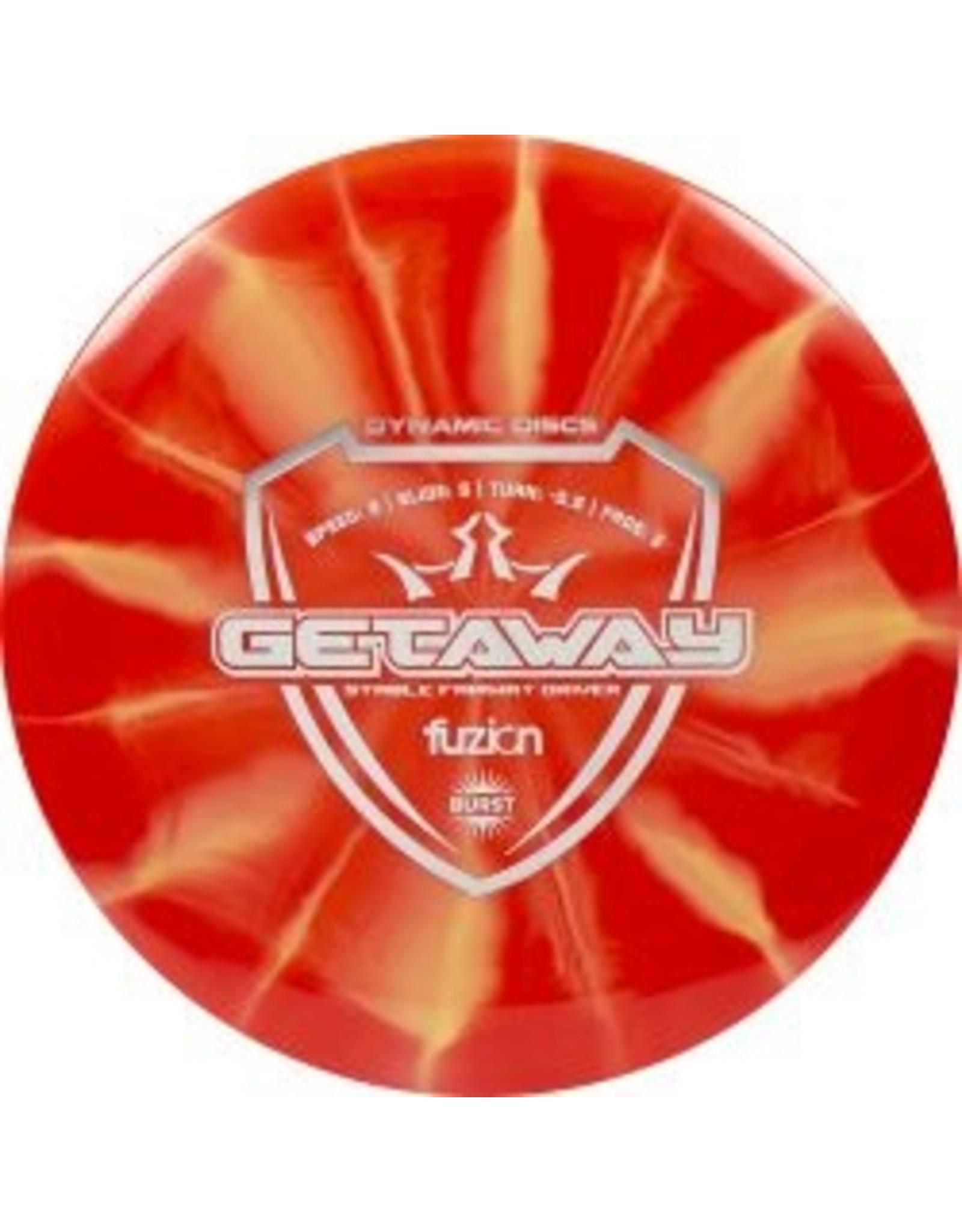 Dynamic Discs Fuzion Burst Getaway 170-172g