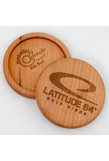 Latitude 64 Wooden Alder Mini Disc Marker