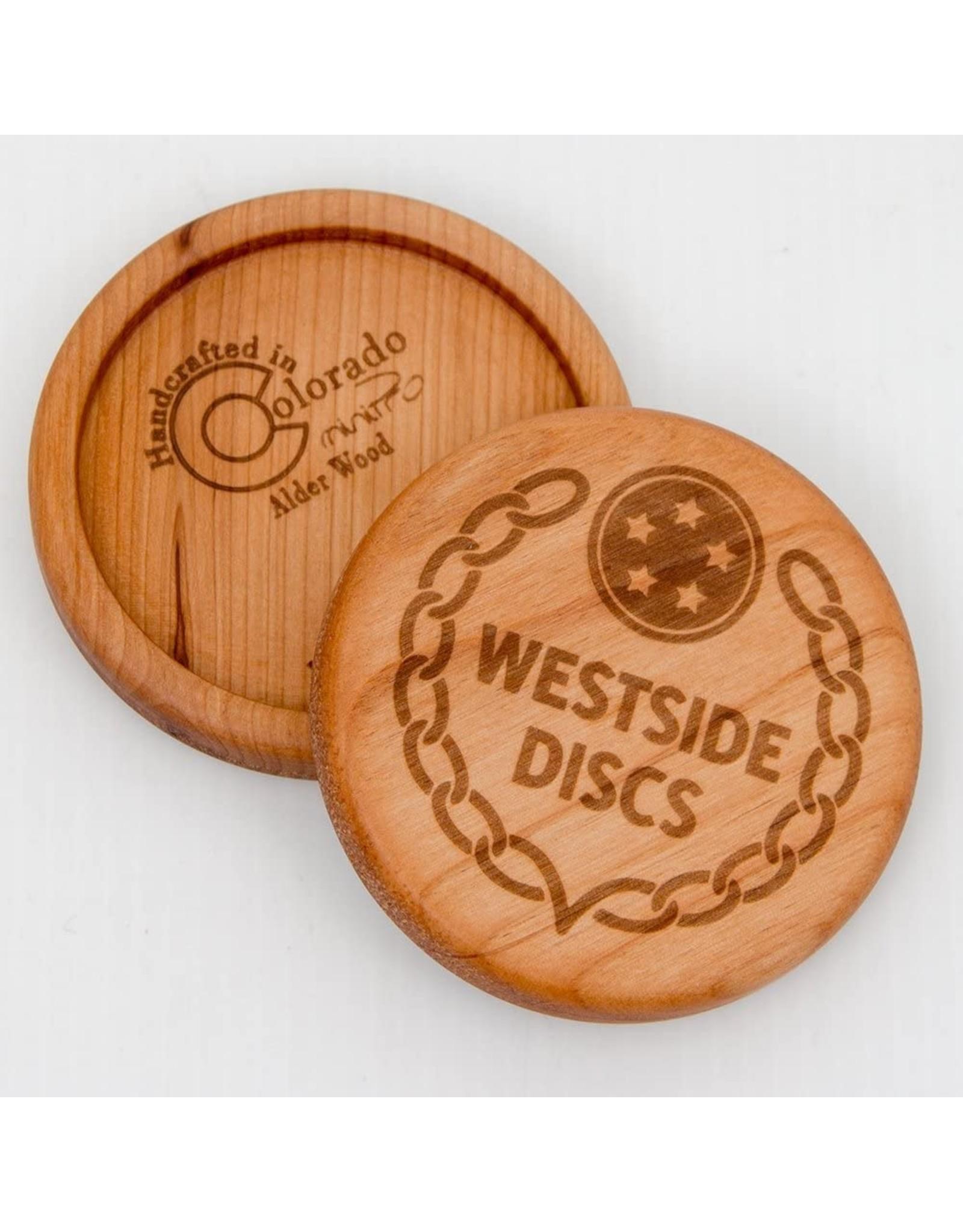 Westside Discs Wooden Alder Mini Disc Marker