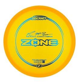 Discraft Paul McBeth Z-Zone Signature Series 173-174g