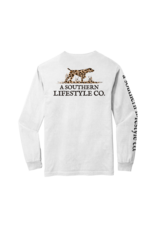 A Southern Lifestyle Co. Southern Lifestyle Leopard Logo LS Tee