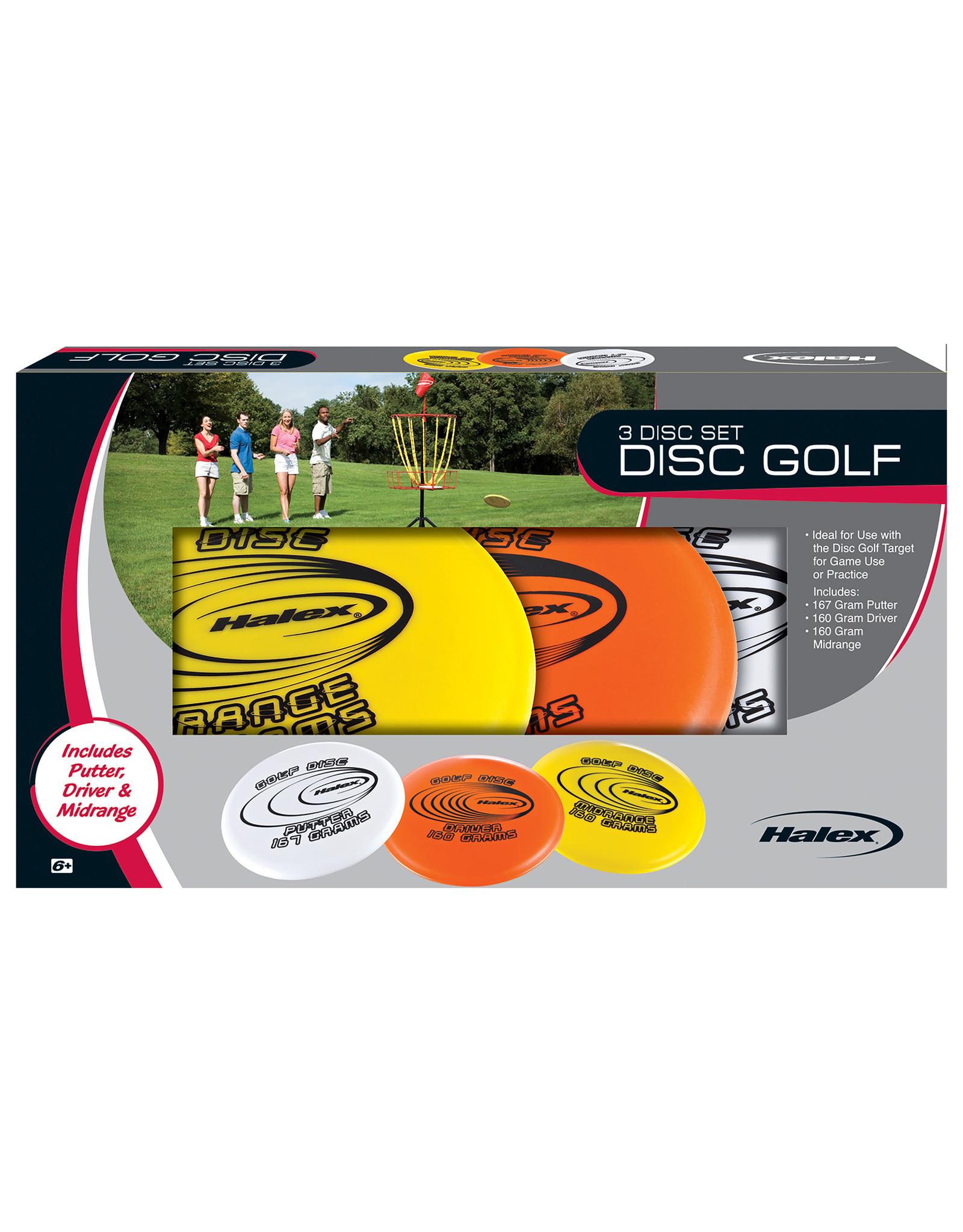 Halex Halex Disc Golf Set