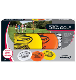 Halex Halex Disc Golf Set