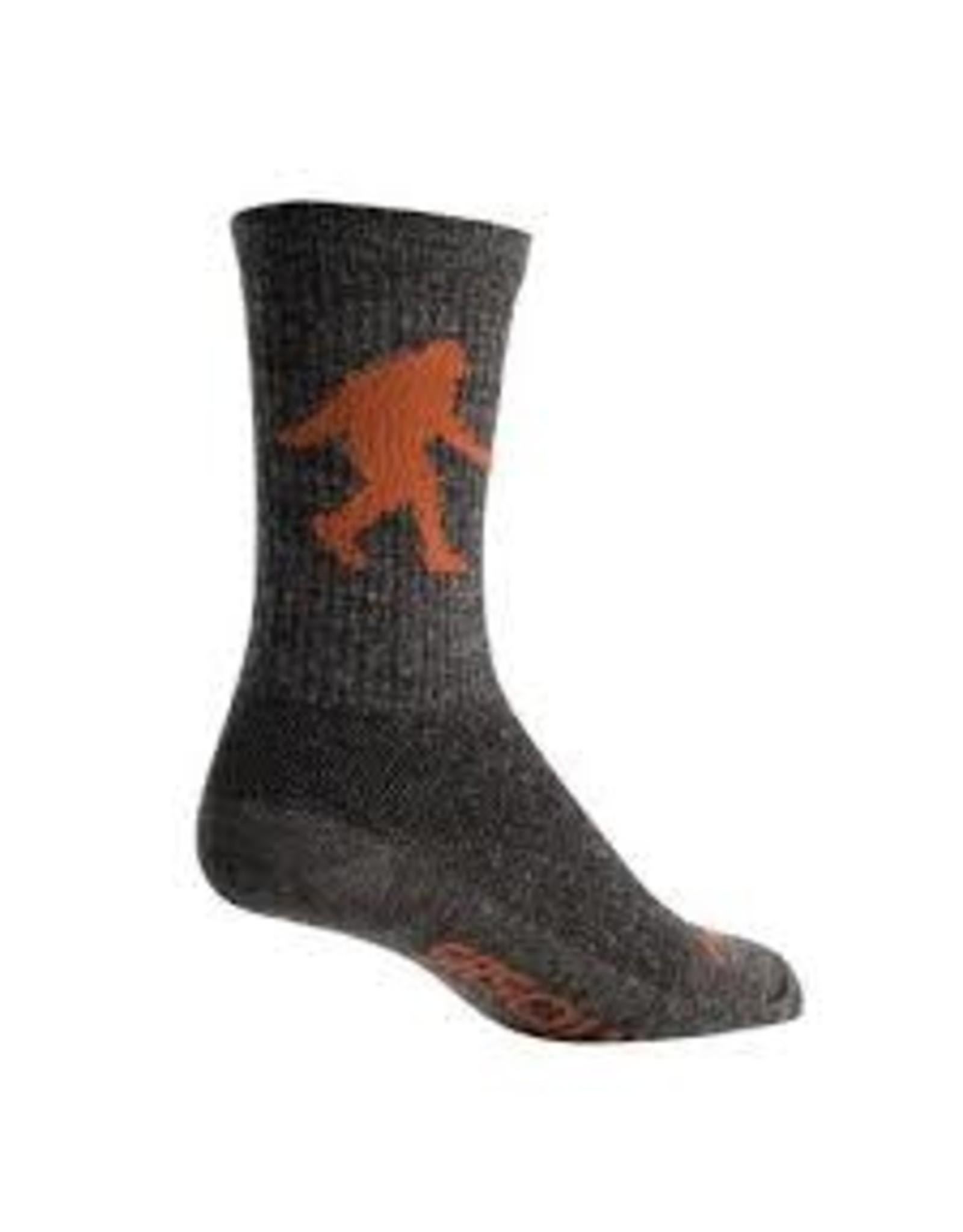 "Sasquatch 6"" Wool Crew Socks"