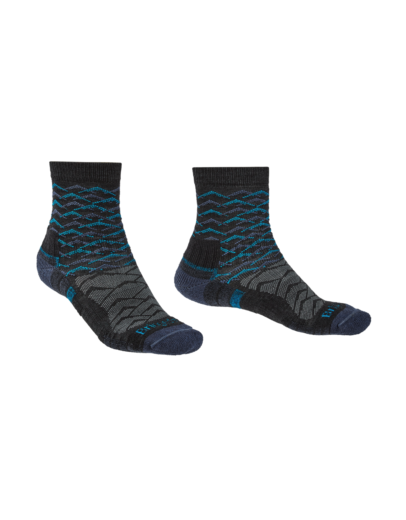 BRIDGEDALE Bridgedale Men's Lightweight Merino Endurance Hiking Socks Ankle Height