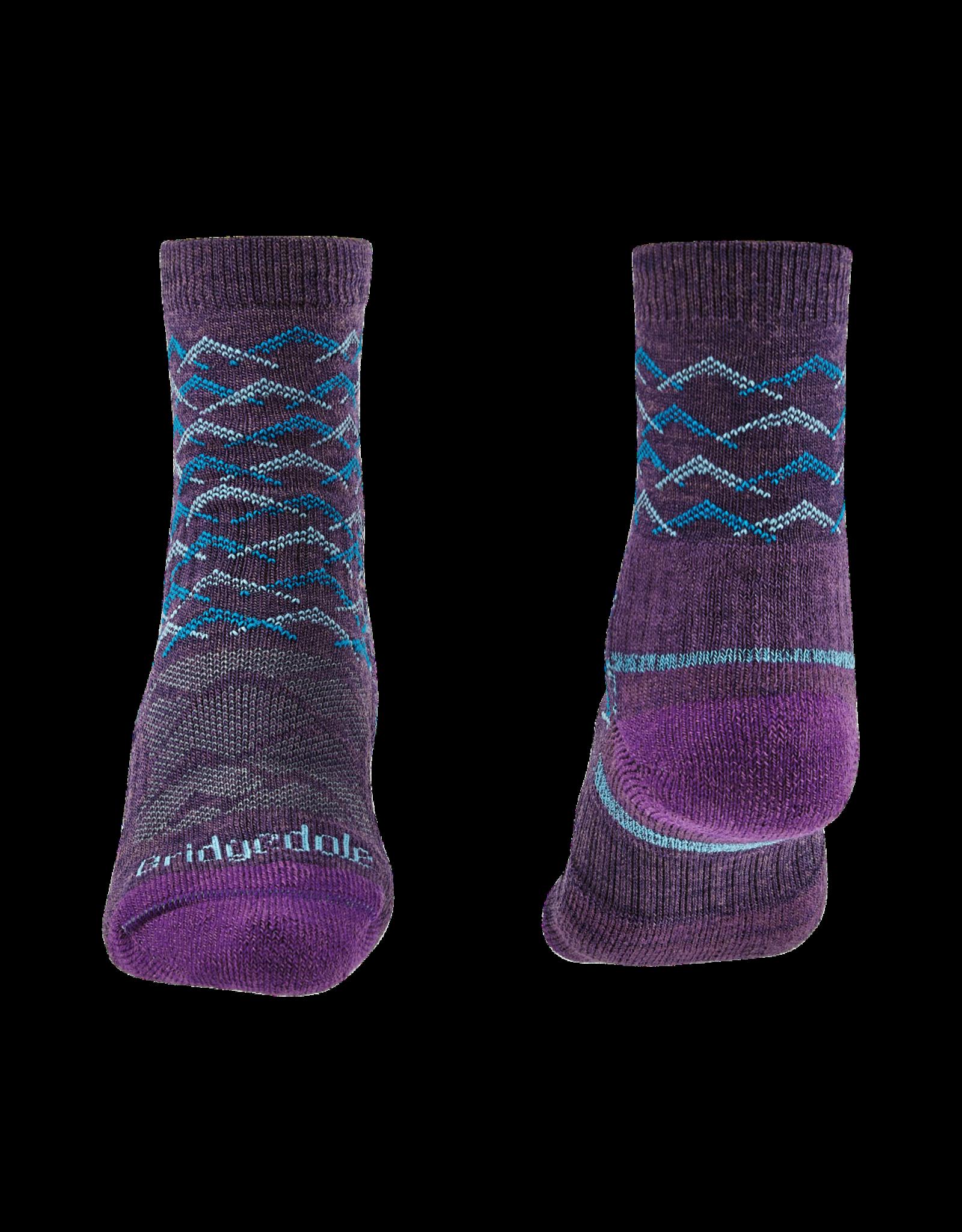 BRIDGEDALE Bridgedale Women's Lightweight Merino Endurance Hiking Socks 3/4 Crew Height