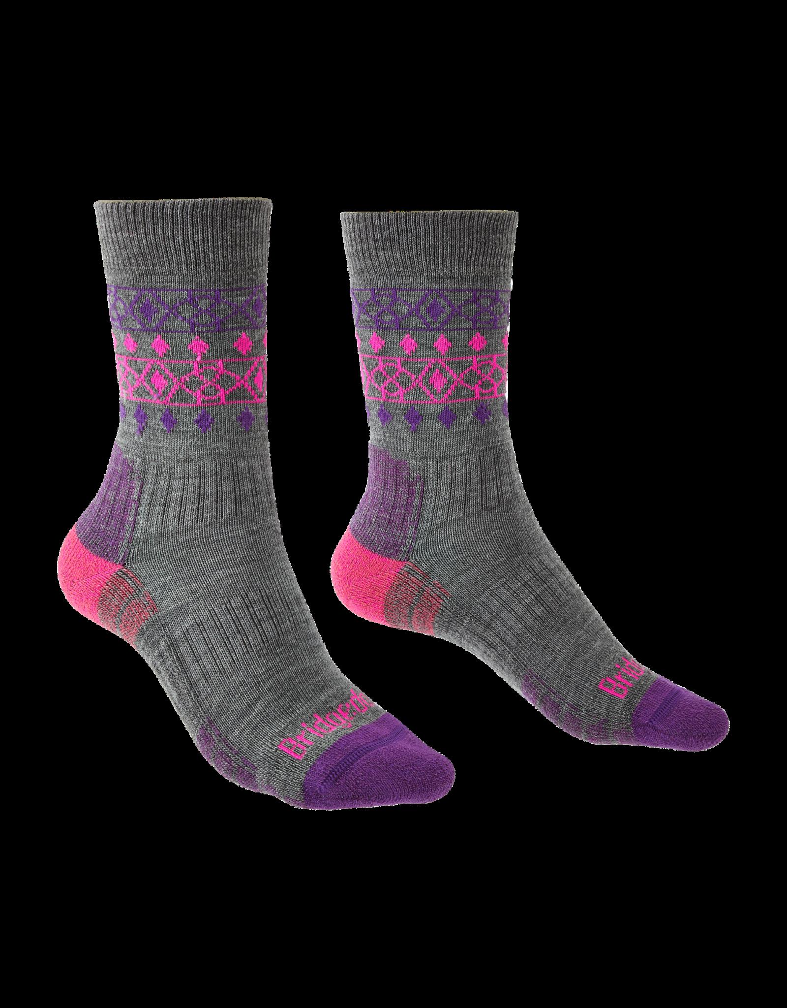 BRIDGEDALE Bridgedale Women's Lightweight Merino Endurance Hiking Socks Boot Height