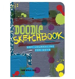 Gibbs Smith Doodle Sketchbook: Art Journaling for Boys by Dawn Devries Soko