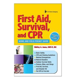 FA Davis First Aid, Survival, and CPR by Shirley Jones