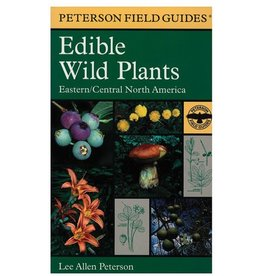 HOUGHTON MIFFLIN Field Guide to Edible Wild Plants of Eastern & Central America by Lee Peterson