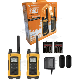 Motorola Solutions Talkabout T402 Twin Pack
