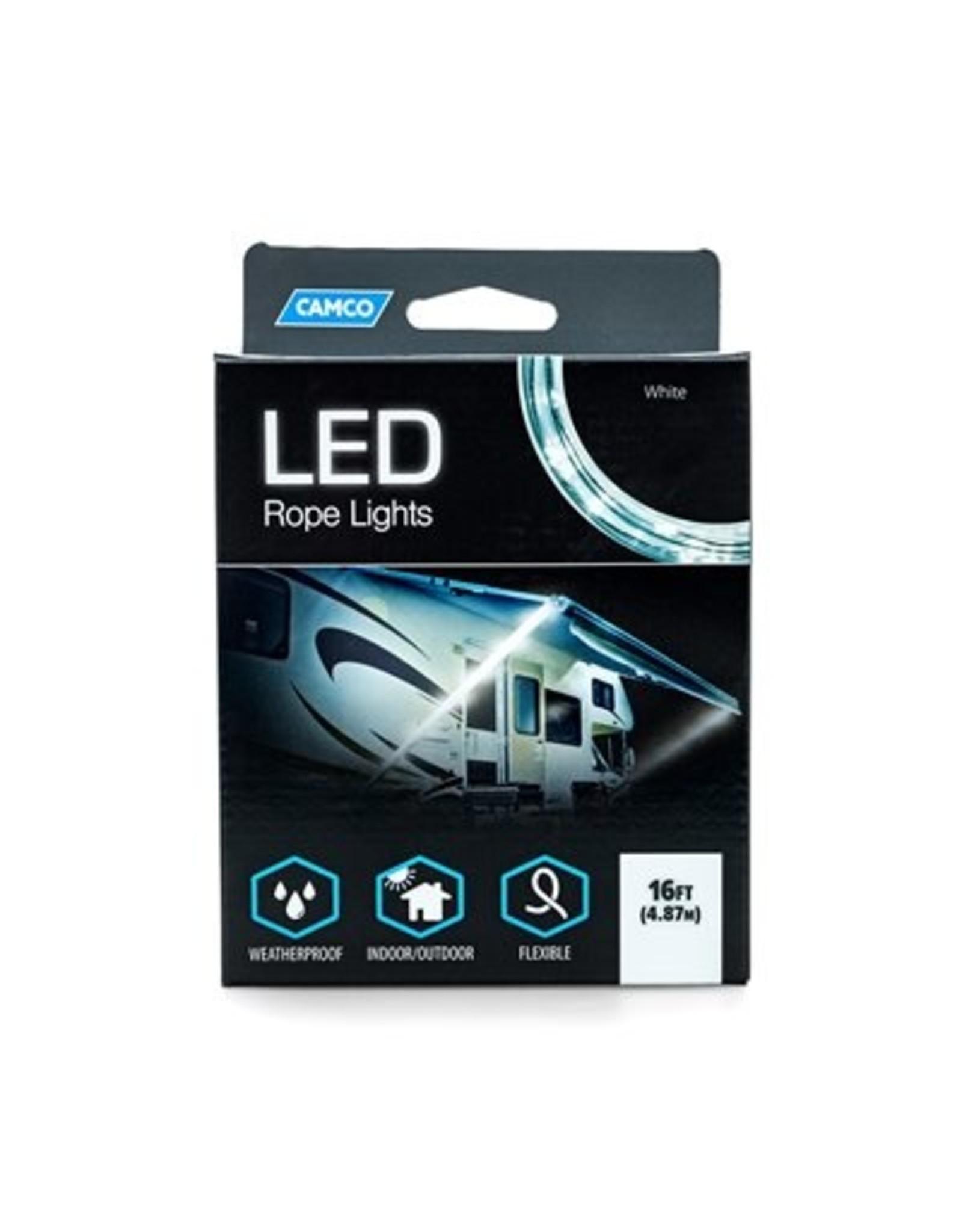 LED ROPE LIGHT BLUE/WHITE 16' (E/F)
