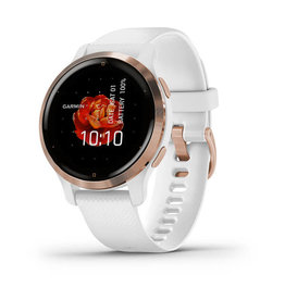 Garmin Venu 2S Smartwatch White/Rose Gold