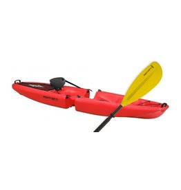 Point 65 Sweden Falcon Red Kayak w/ Paddle Solo