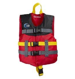 MTI Child Livery Life Jacket Red/Black (30-50lbs.)