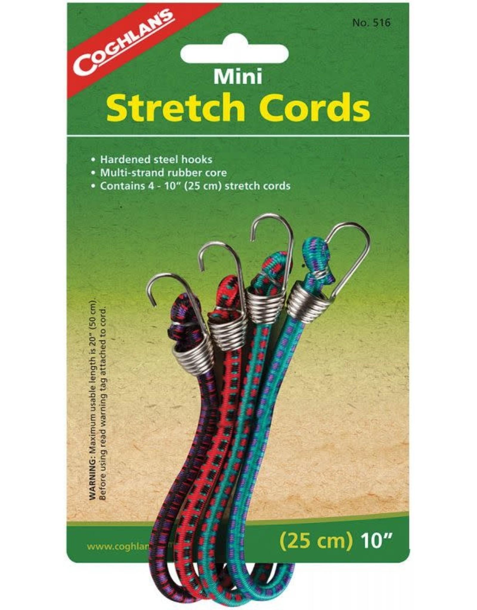 Mini Stretch Cords 4 pk.