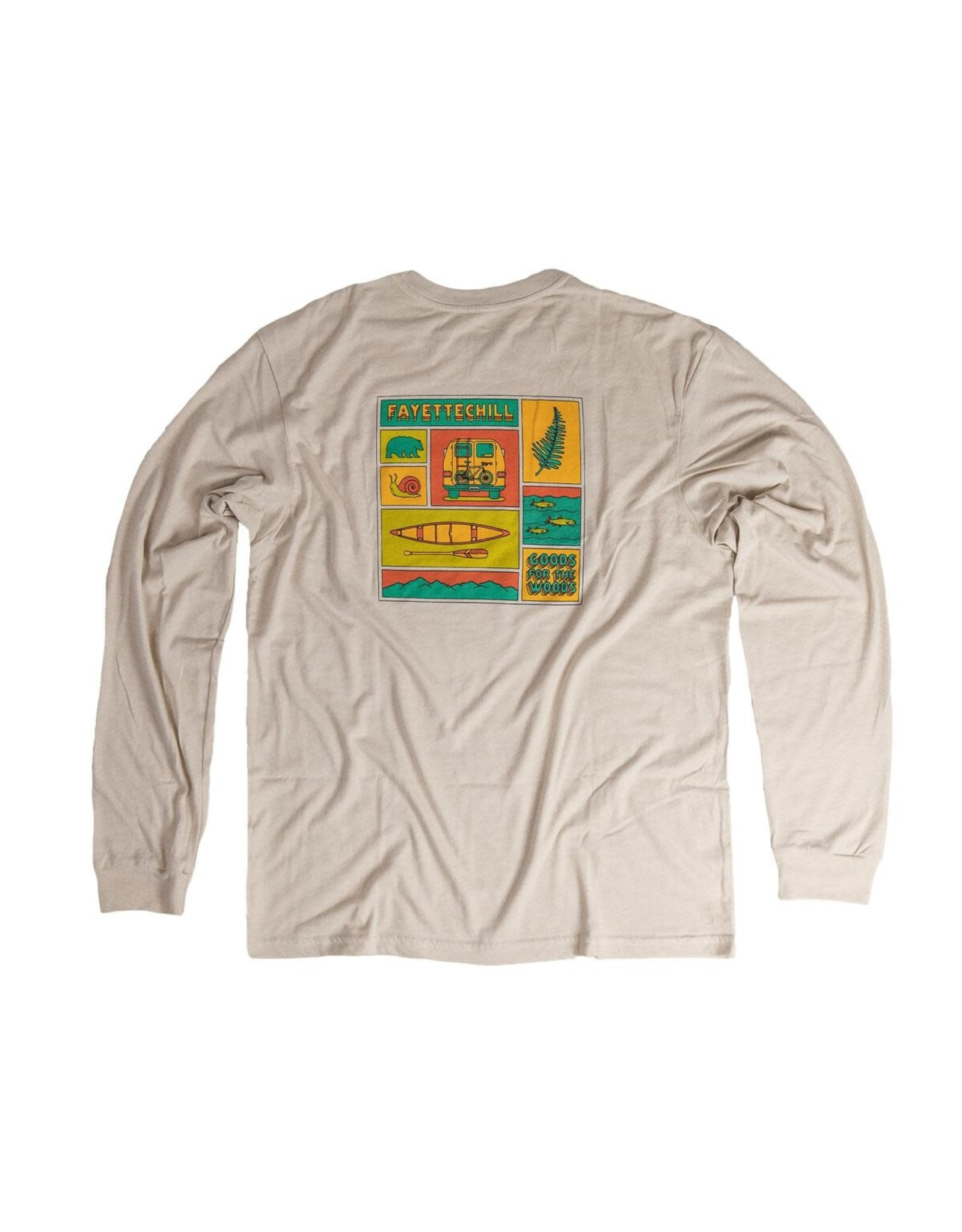 Fayettechill Fayettechill L/S Artifact T-Shirt