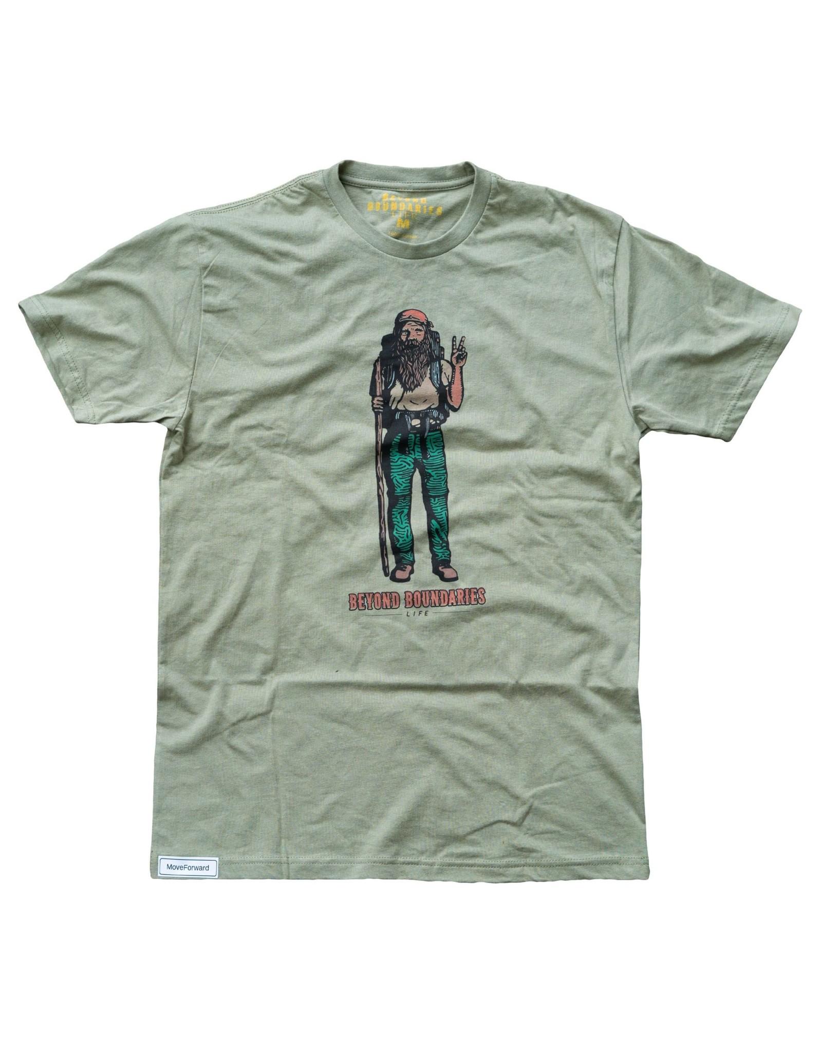 Beyond Boundaries Beyond Boundaries S/S Hippy Man T-Shirt