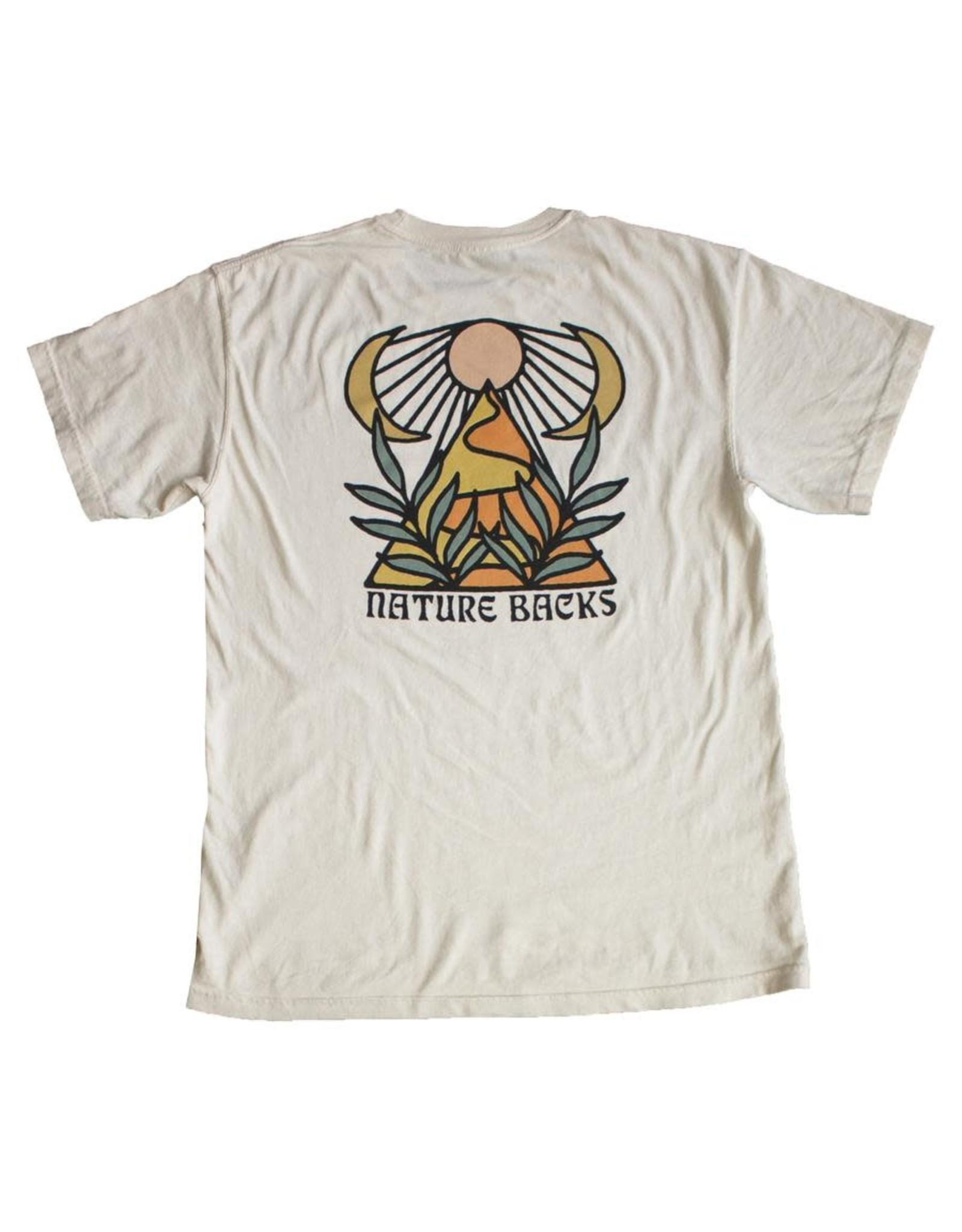 Nature Back S/S Giza T-Shirt