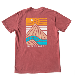 Nature Back S/S Summit T-Shirt