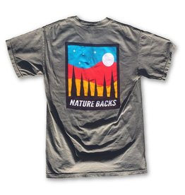 Nature Back S/S Moon T-Shirt
