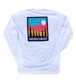 Nature Back L/S Moon T-Shirt
