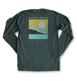 Nature Back L/S Shoreline T-Shirt