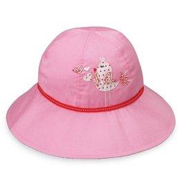 Wallaroo Hat Co Wallaroo Kid's Hat Sophia Pink Bird