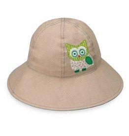Wallaroo Hat Co Wallaroo Kid's Hat Sophia Tan Owl