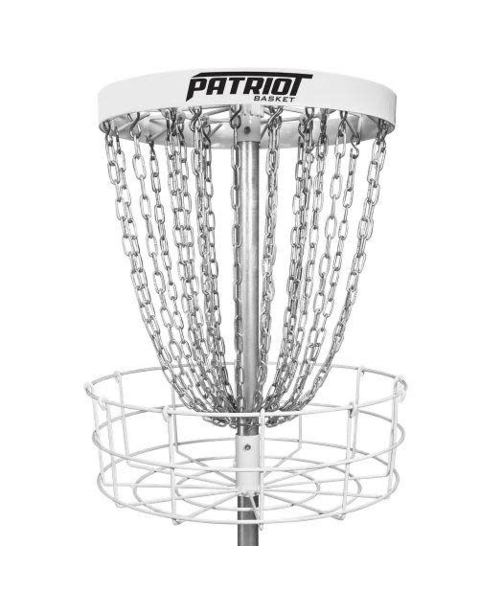 Dynamic Disc Patriot Portable Basket - White