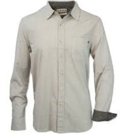 Purnell Purnell Pinstripe Button Down Shirt (M)