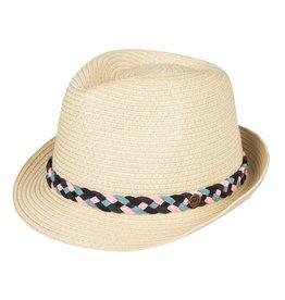 Quicksilver-Roxy Snow Roxy Sentimiento Straw Trilby Hat