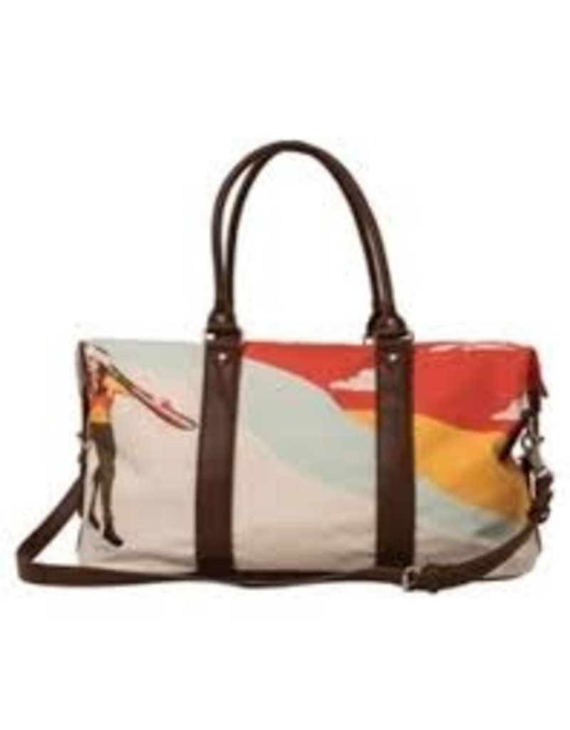 Krimson Klover Krimson Klover Weekender Bag, Mandarin Red