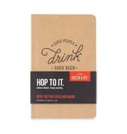 Foster & Rye Beer Tasting Notebook