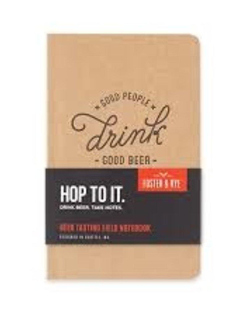 Indigo Fair Foster & Rye Beer Tasting Notebook