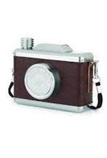 Indigo Fair Foster & Rye Stainless Steel Snapshot Flask