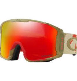 Oakley Oakley Line Miner Goggle, Carlson Sig Razor Camo w/Prizm Torch Iri.