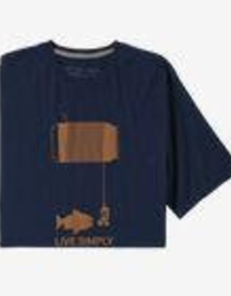 Patagonia Patagonia Live Simply Happy Hour Orgnic Tee (M)