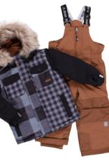 Nano Noruk Insulated Patchwork Plaid Snowsuit (Y)