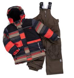 Nano Noruk Insulated Orange Stripel Snowsuit (Y)