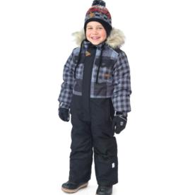 Nano Noruk Insulated One-Piece Checked Snowsuit (T)