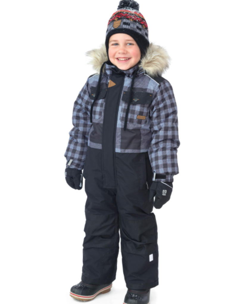 Nano Noruk Insulated One-Piece Checked Snowsuit (T)